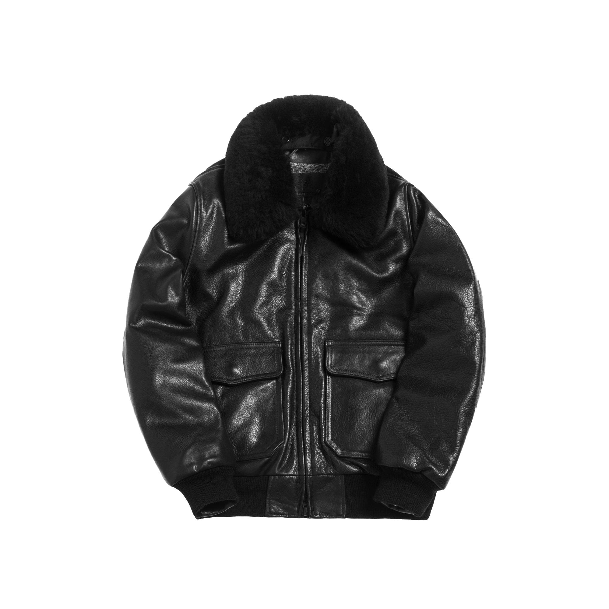 Kith x mastermind WORLD x Golden Bear Bomber Jacket Black