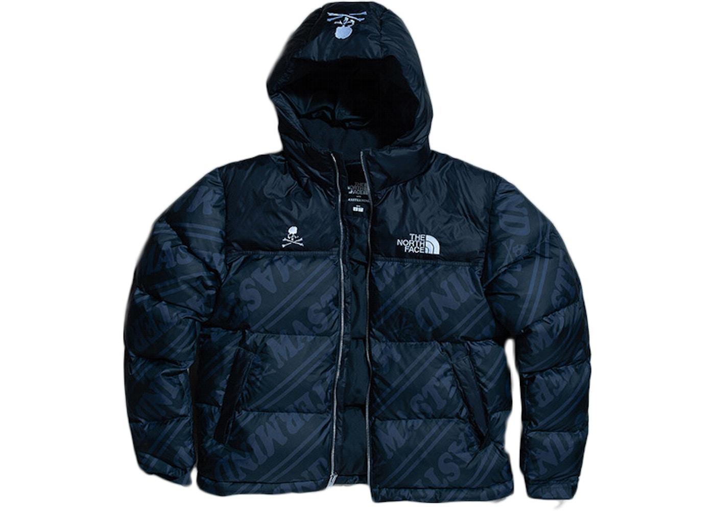 2332ab040 Mastermind The North Face Nuptse Jacket Black • Buy/Sell on StockX