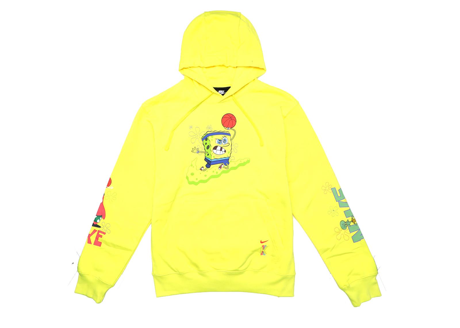 Nike Kyrie x Spongebob Dri Fit Hoodie Dynamic Yellow