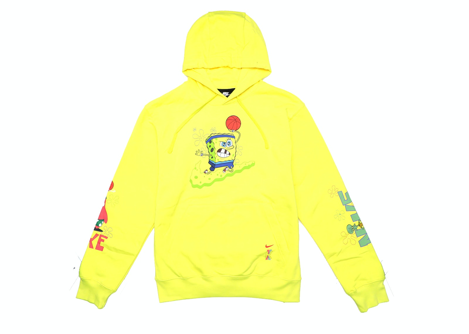 Nike Kyrie x Spongebob Dri,Fit Hoodie Dynamic Yellow
