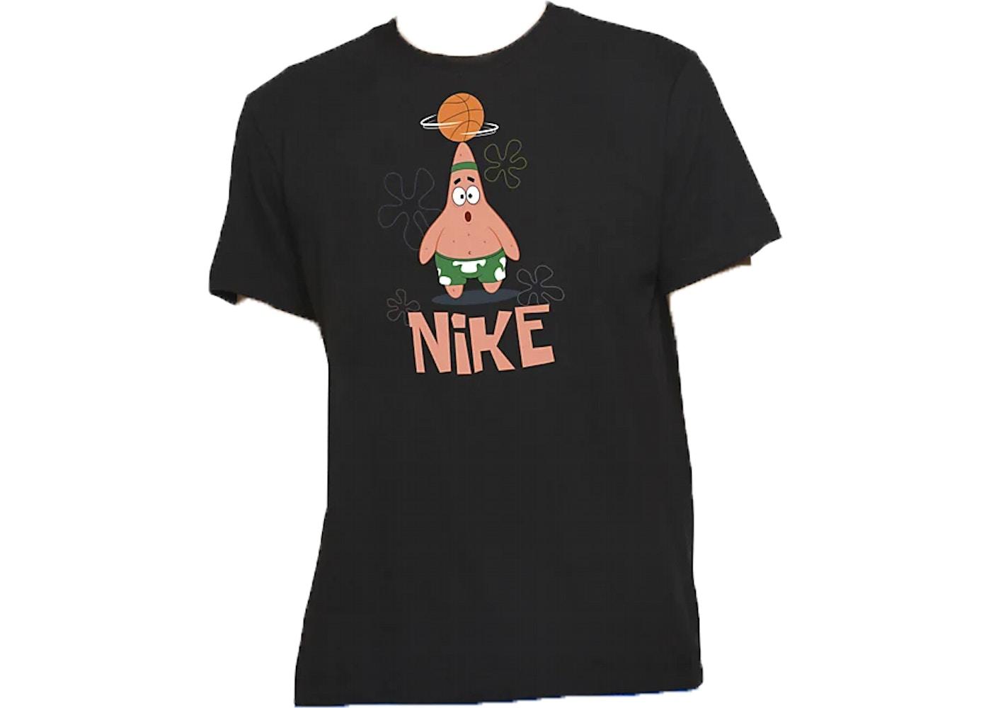 Nike Kyrie x Spongebob Dri Fit Patrick Star Tee (Kids Sizing) Black
