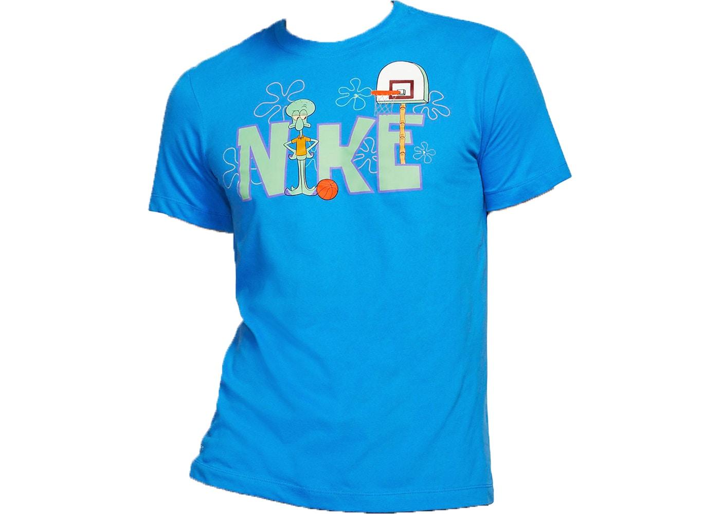 nike shirt blue
