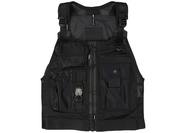 f332c4cd Nike MMW Beryllium Utility Vest Black - SS19