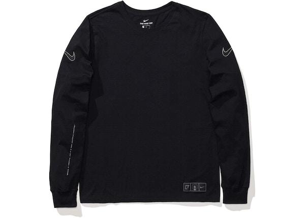 separation shoes 0eb7c 8d613 Nike NSW Colin Kaepernick Longsleeve T-Shirt Black
