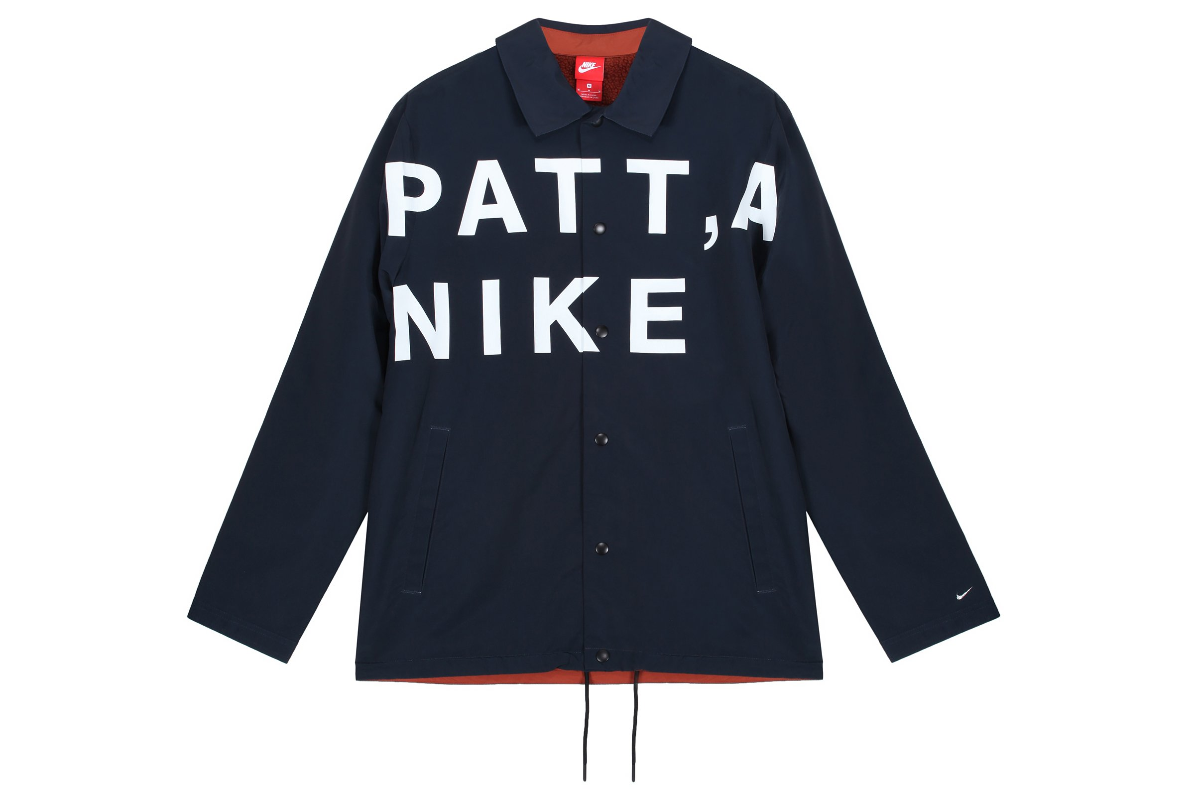Nike NSW Patta Coaches Jacket Dark Obsidian