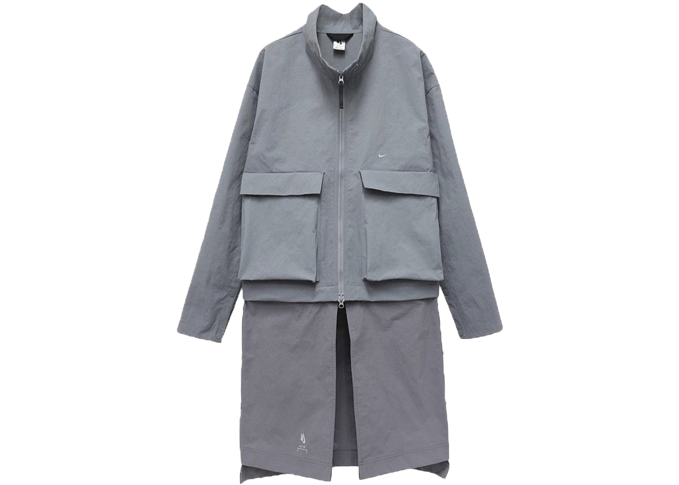 Nike X Acw Dual Component Overcoat Crushed Granite by Stock X