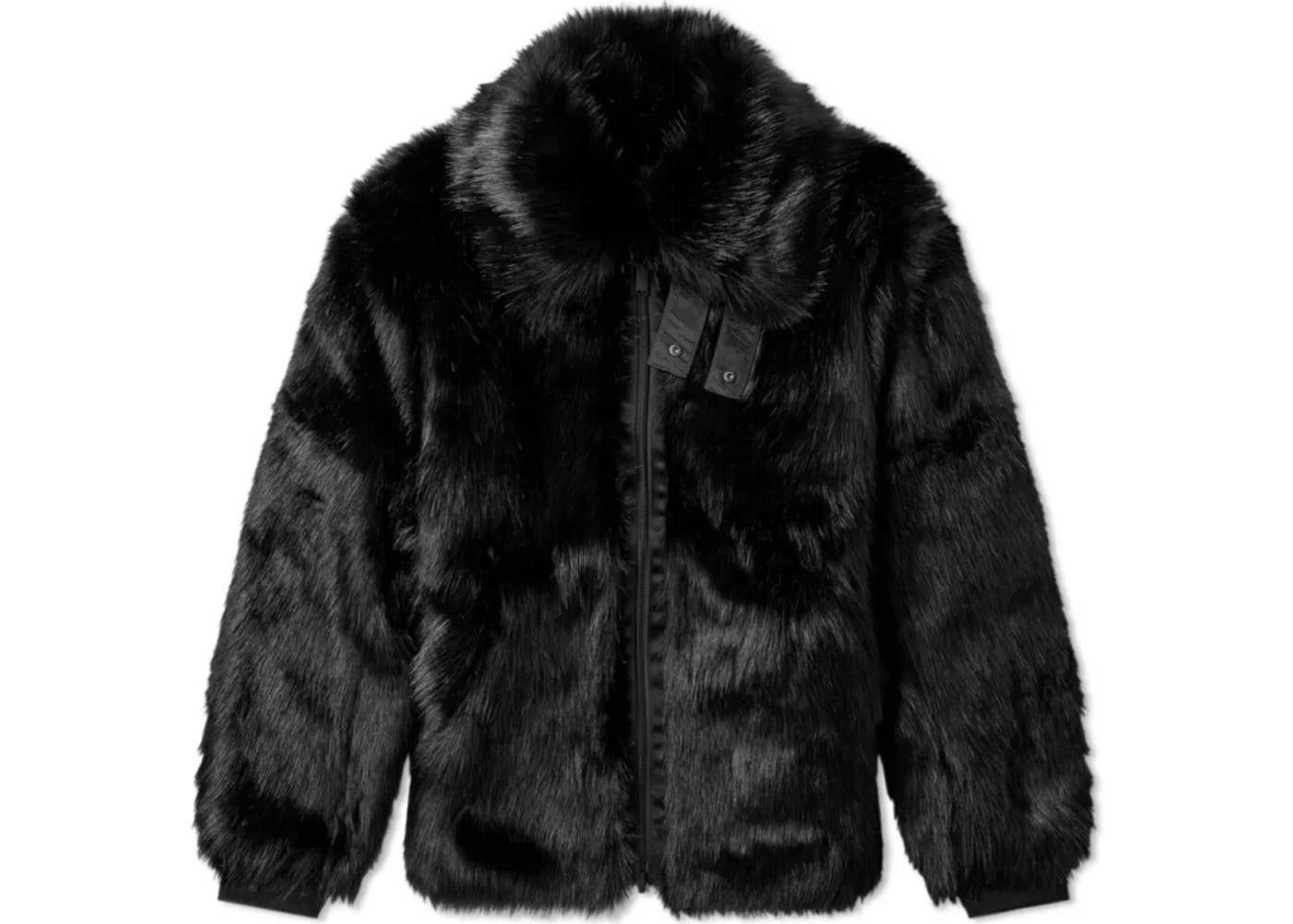 80a4095b151b Nike x Ambush Women's Reversible Faux Fur Coat Black/Sail. x Ambush Women's  Reversible Faux Fur