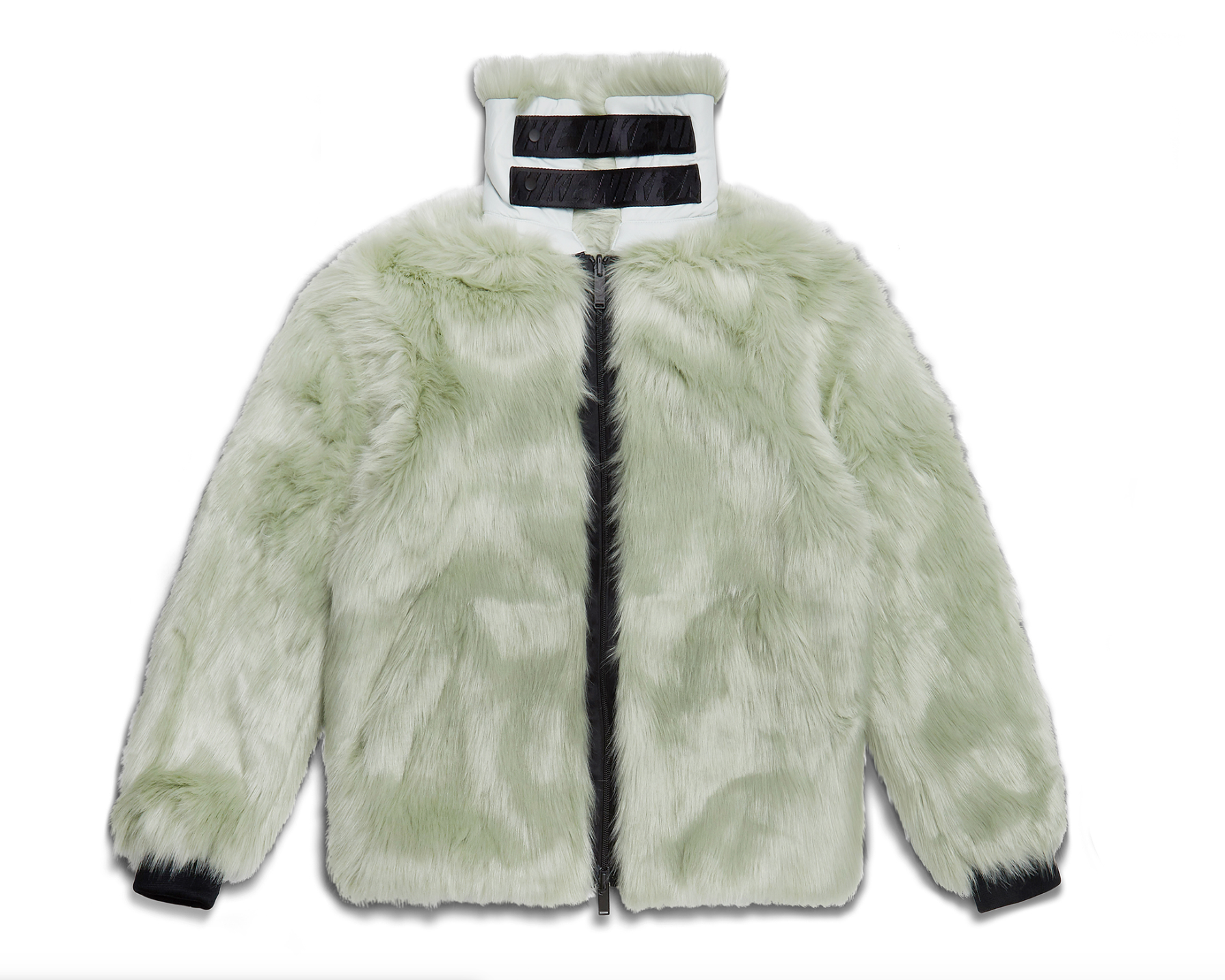 Nike x Ambush Women's Reversible Faux Fur Coat Jade Horizon/Black