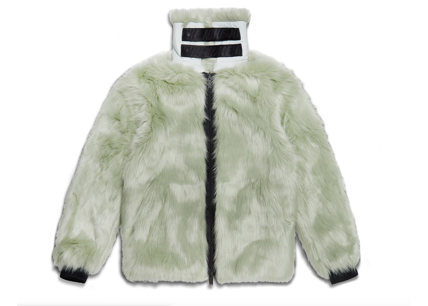 6f96dad8a082 Nike x Ambush Women's Reversible Faux Fur Coat Jade Horizon/Black - FW18