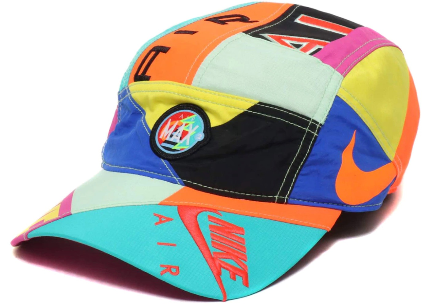 771c032889c65 Nike x Atmos NRG AW84 Hat Blue Black Flash Crimson - SS19