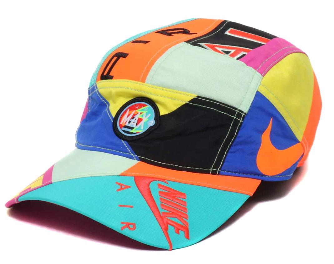 Nike X Atmos Nrg Aw84 Hat Blue Black Flash Crimson Ss19
