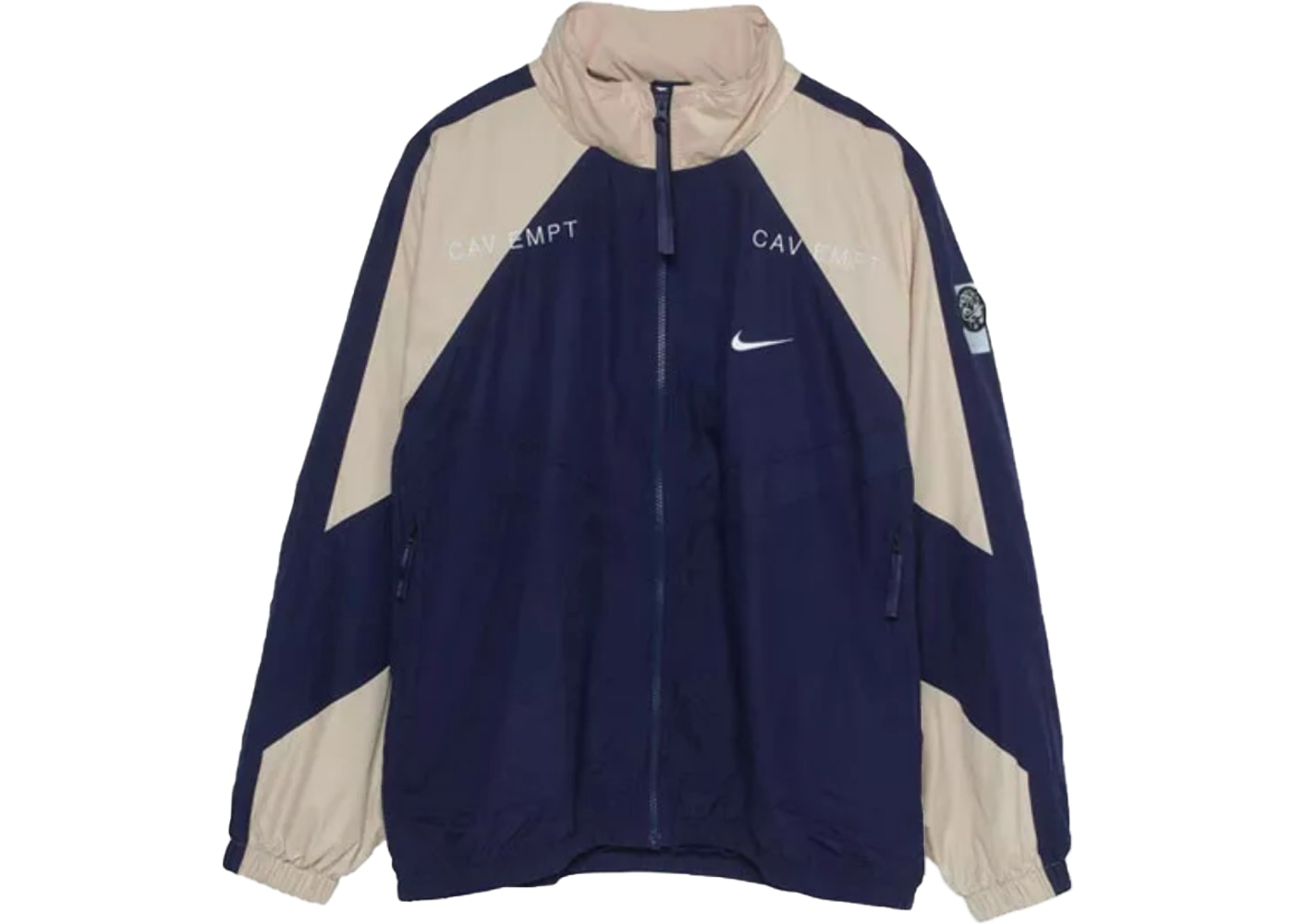 Nike x CE Track Jacket Navy Tan - FW18 40df9cc4b49a