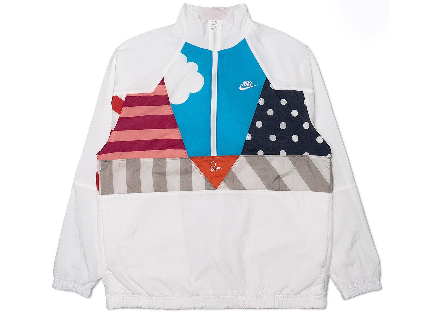 08e3ddd7aa0 Nike x Parra Woven Warm Up Tracksuit (Jacket and Pants Set) White - SS18