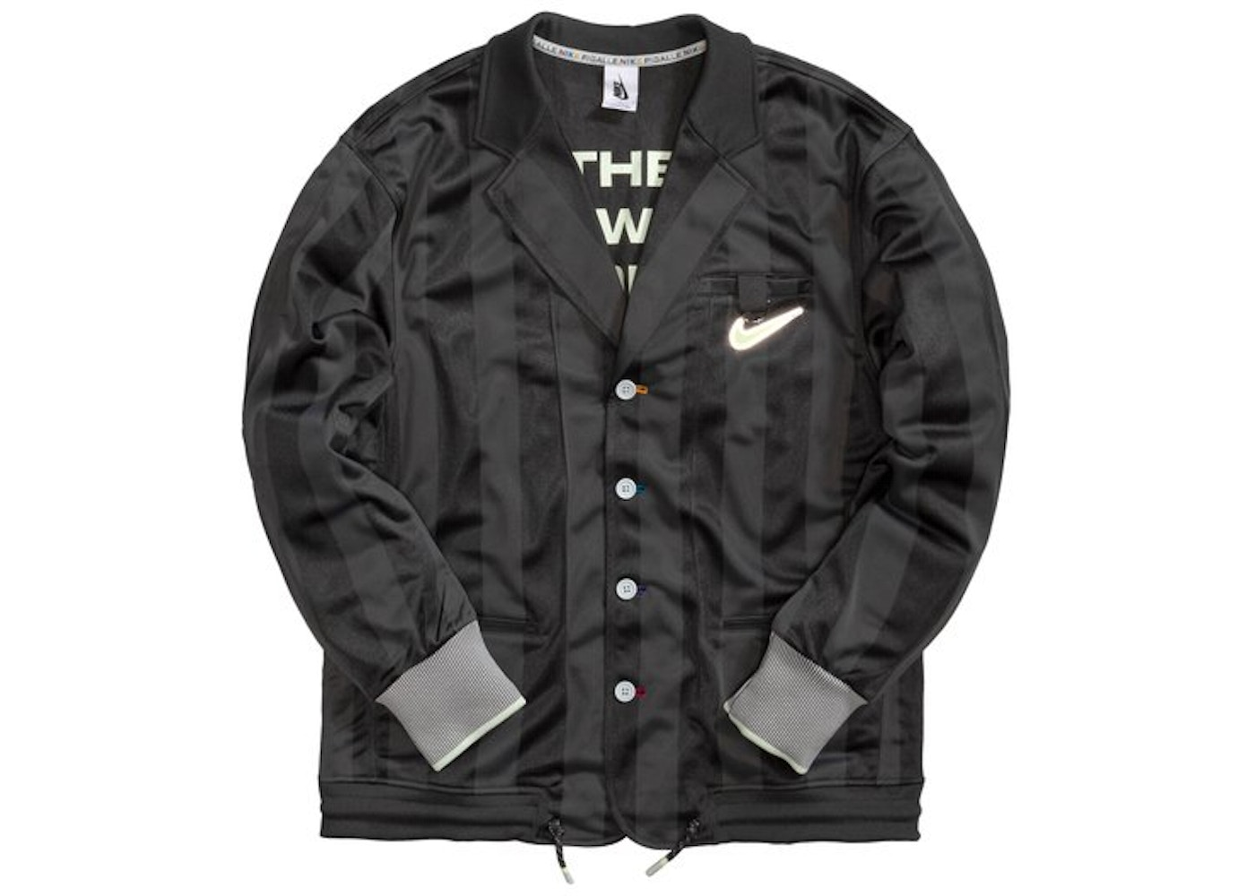 orden Optimismo izquierda  Nike x Pigalle Tracksuit Jacket Anthracite - SS20