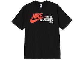 Nike x Stussy International Beach Crew T-Shirt Black