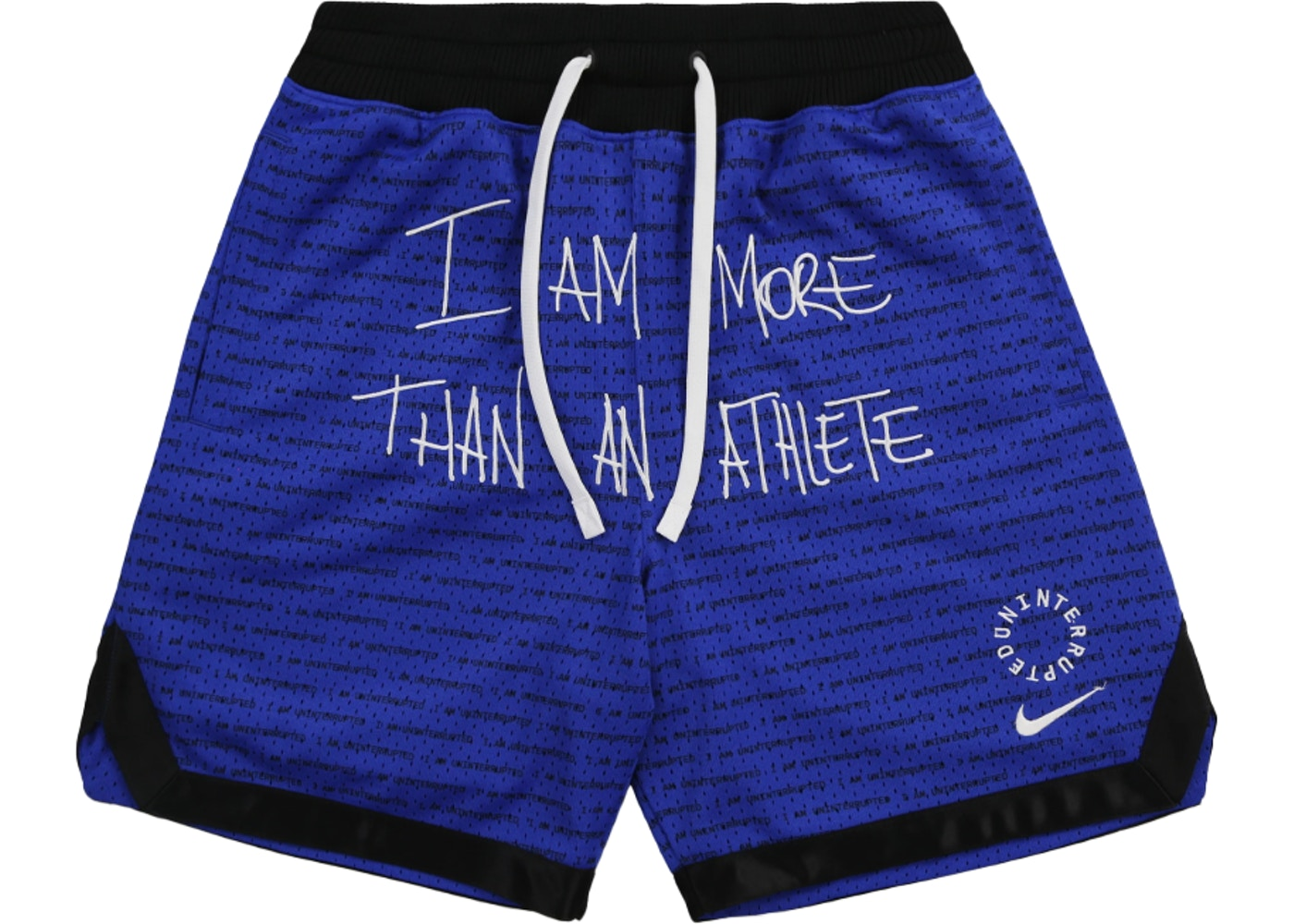 cost charm elegant shoes low priced Nike x UN LeBron James More Than An Athlete Shorts Racer Blue/Black