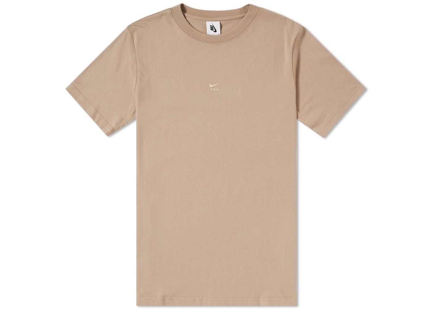 aeb61682 Nikelab x MMW Men's Graphic T-Shirt Khaki - SS18
