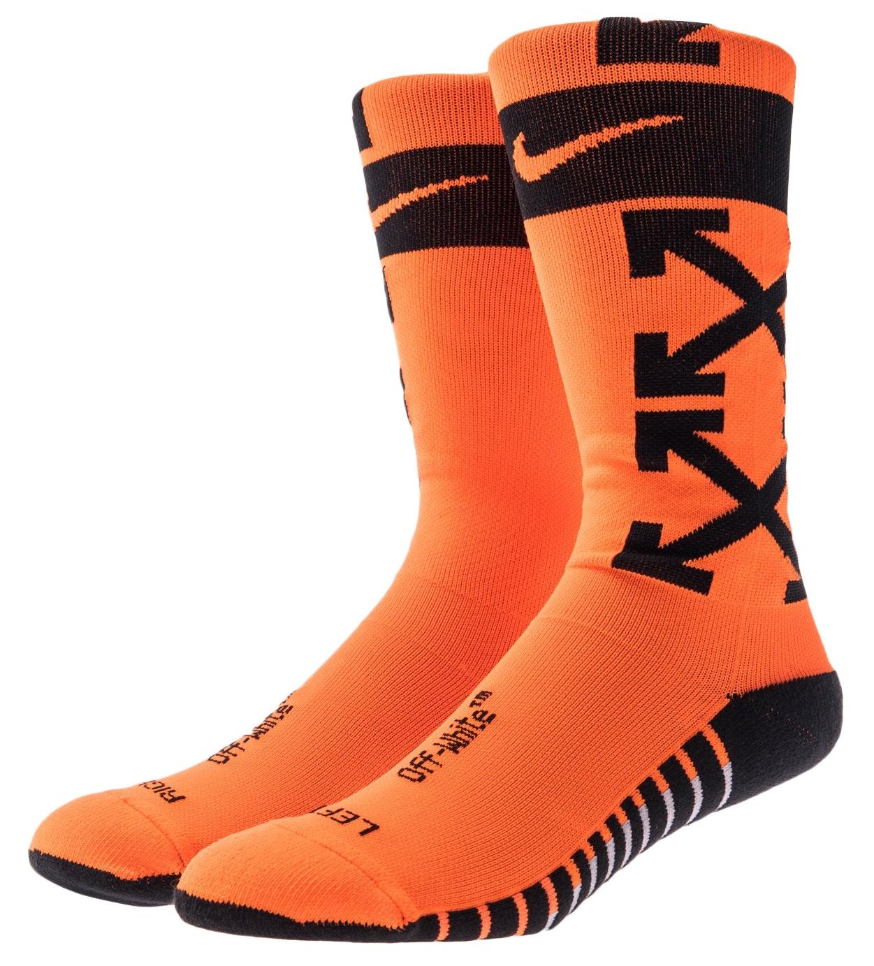 Nikelab x OFF-WHITE FB Socks Orange