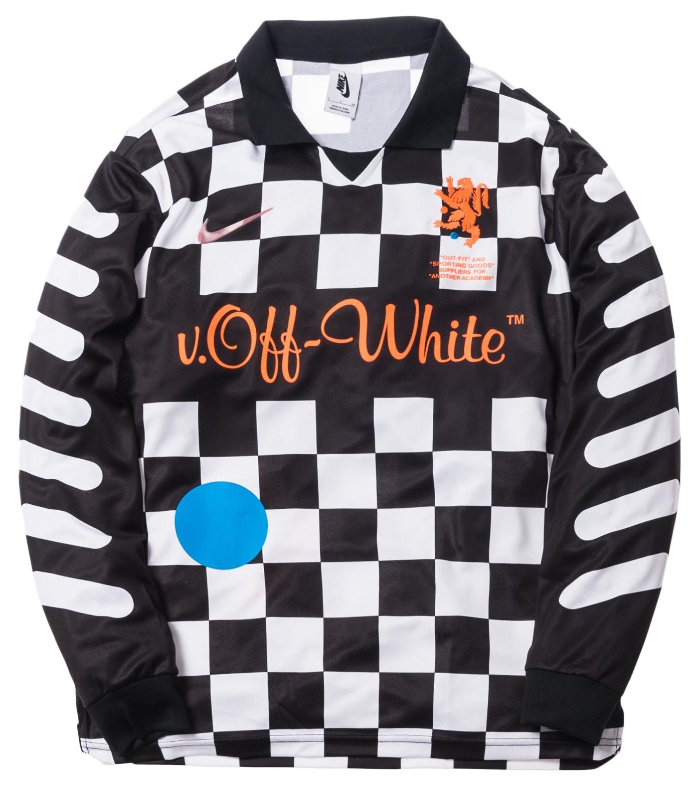 Nikelab x OFF-WHITE Mercurial NRG X FB Jersey Black