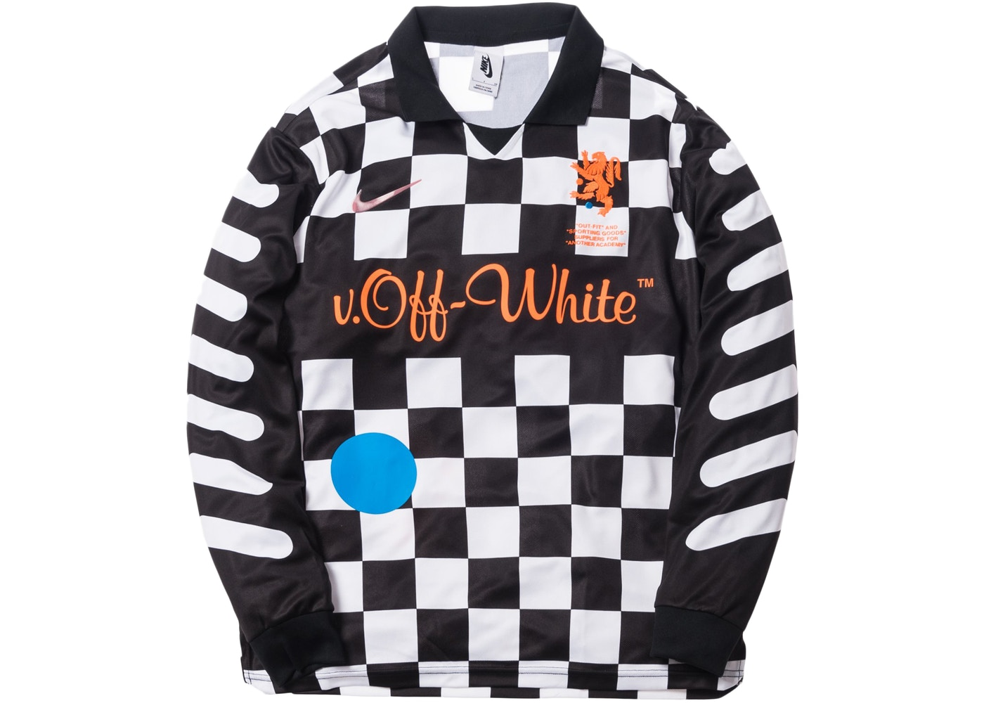 nikelab x off white mercurial nrg x fb jersey black ss18