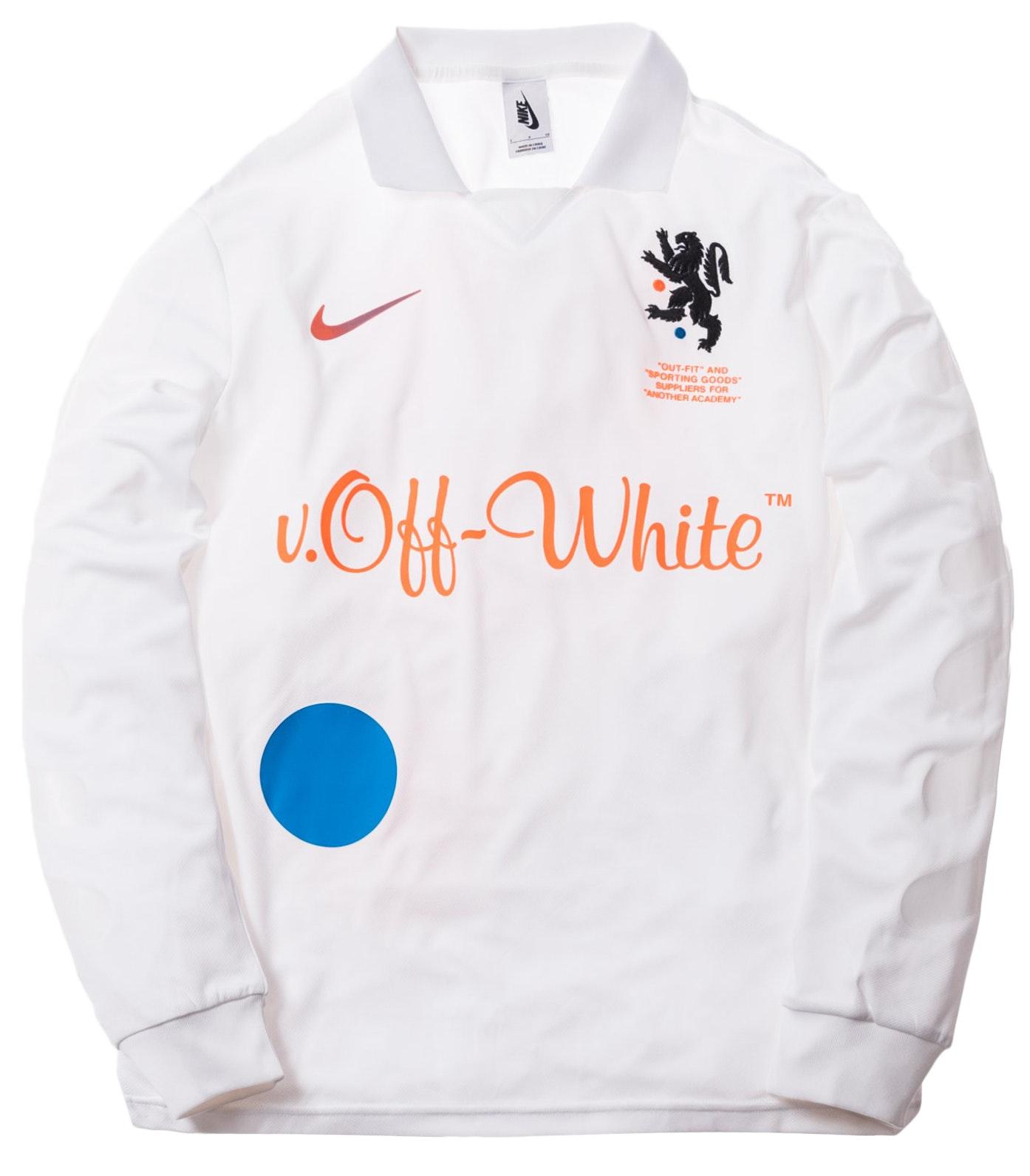 Nikelab x OFF-WHITE Mercurial NRG X FB Jersey White