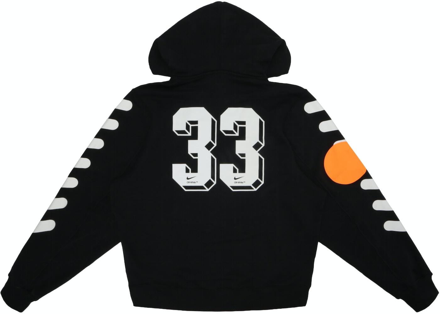 9846581c007 Nikelab x OFF-WHITE Mercurial NRG X Hoodie Black - SS18