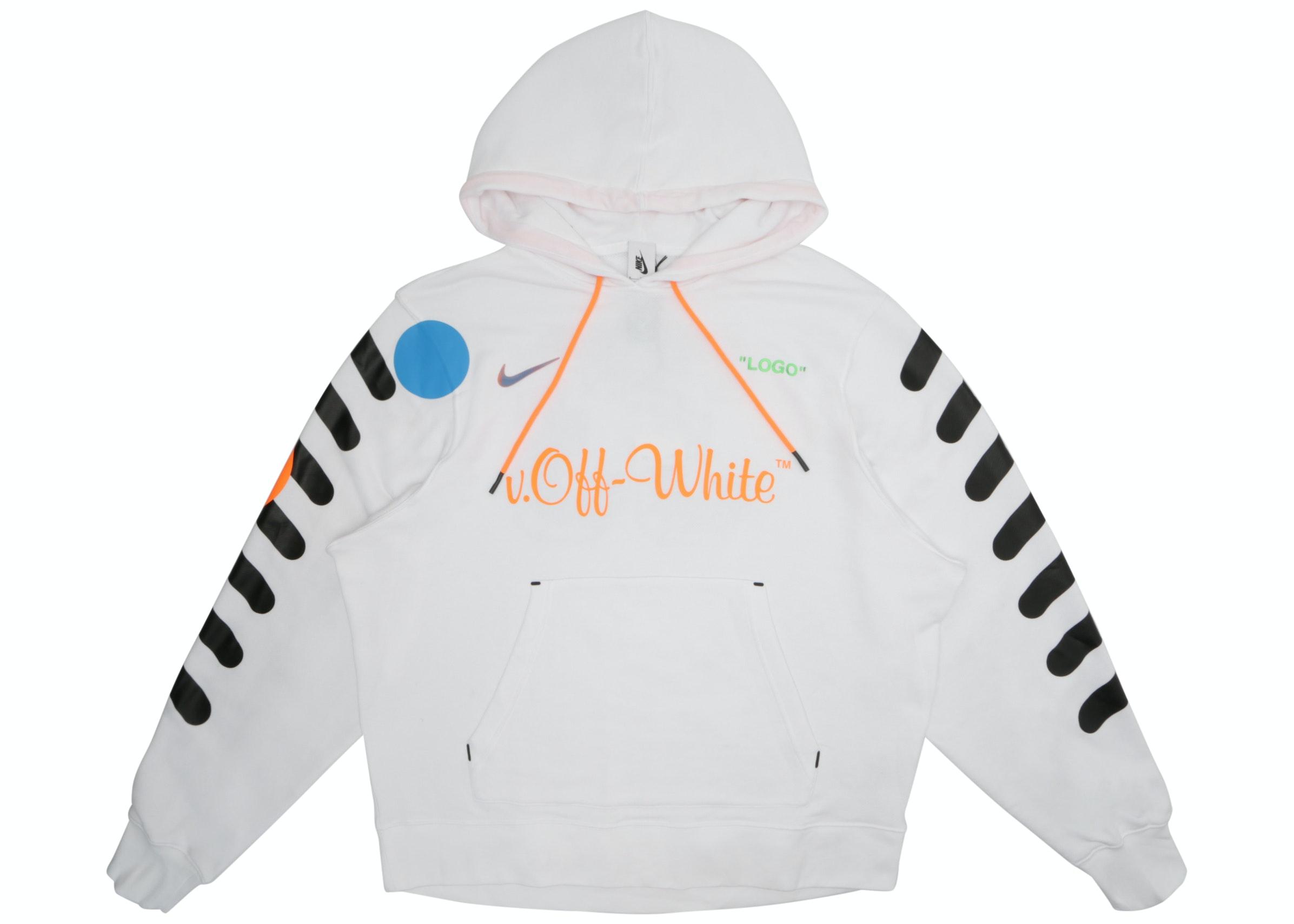 Nikelab x OFF-WHITE Mercurial NRG X Hoodie White