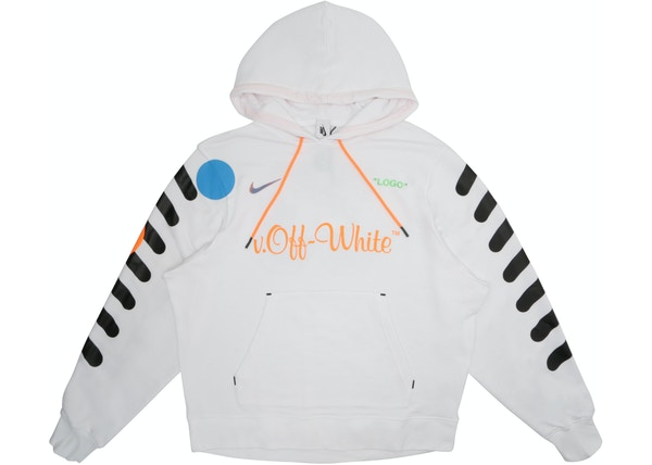Nikelab x OFF-WHITE Mercurial NRG X Hoodie White - SS18 b84c6d50c