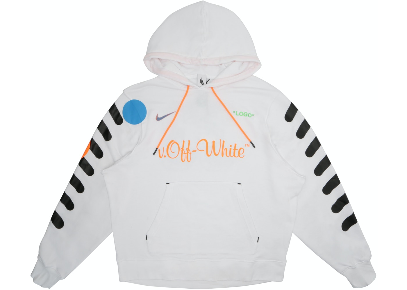 new style 49430 20a9e Nikelab x OFF-WHITE Mercurial NRG X Hoodie White