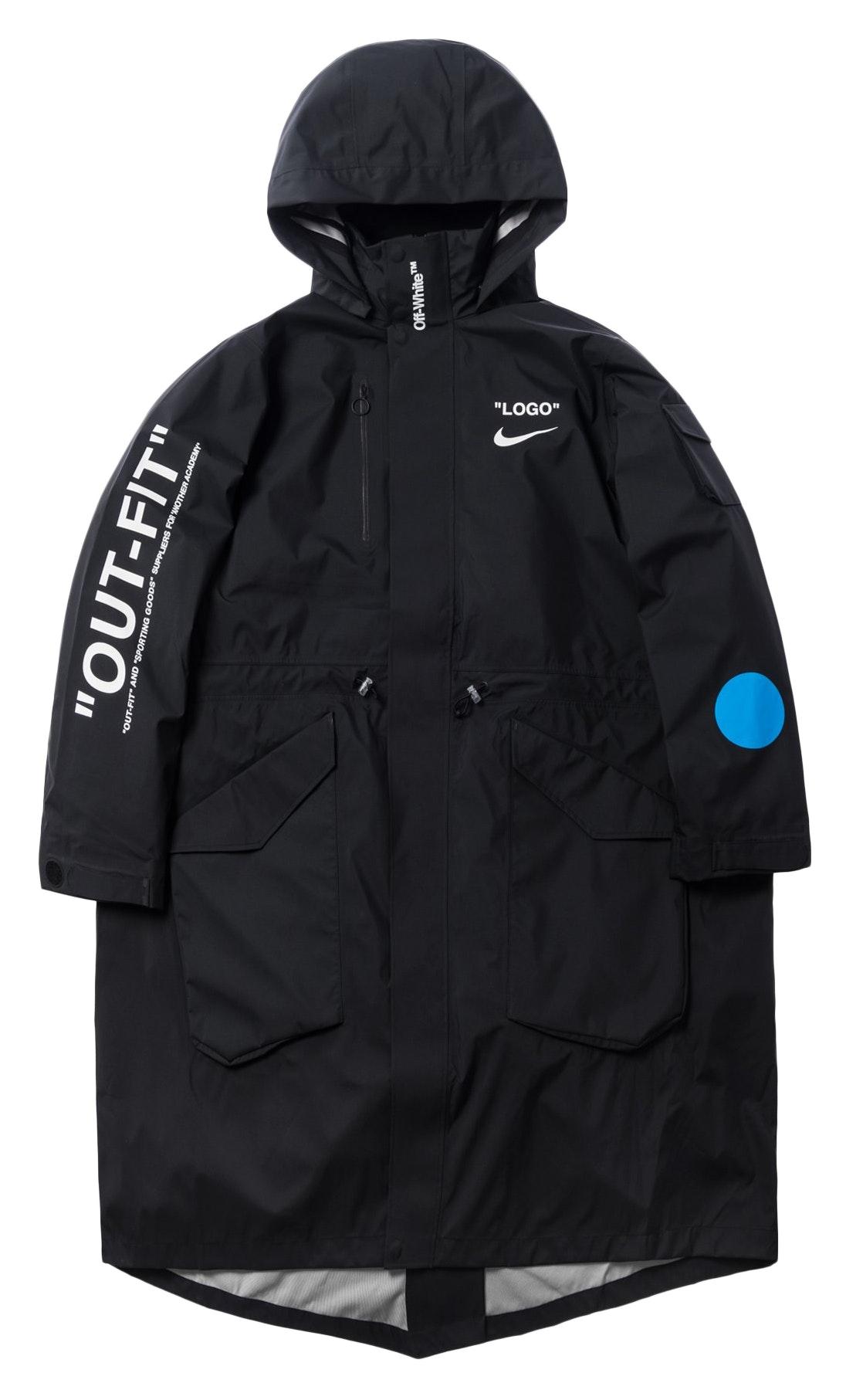 Nikelab x OFF-WHITE Mercurial NRG X Jacket Jacket Black