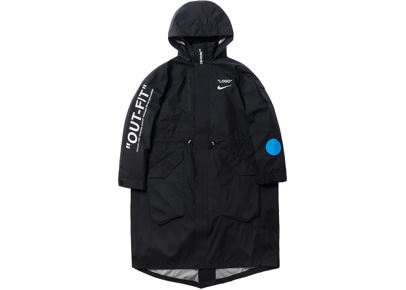 7b303a6dba65 Nikelab x OFF-WHITE Mercurial NRG X Jacket Jacket Black. Mercurial NRG X  Jacket
