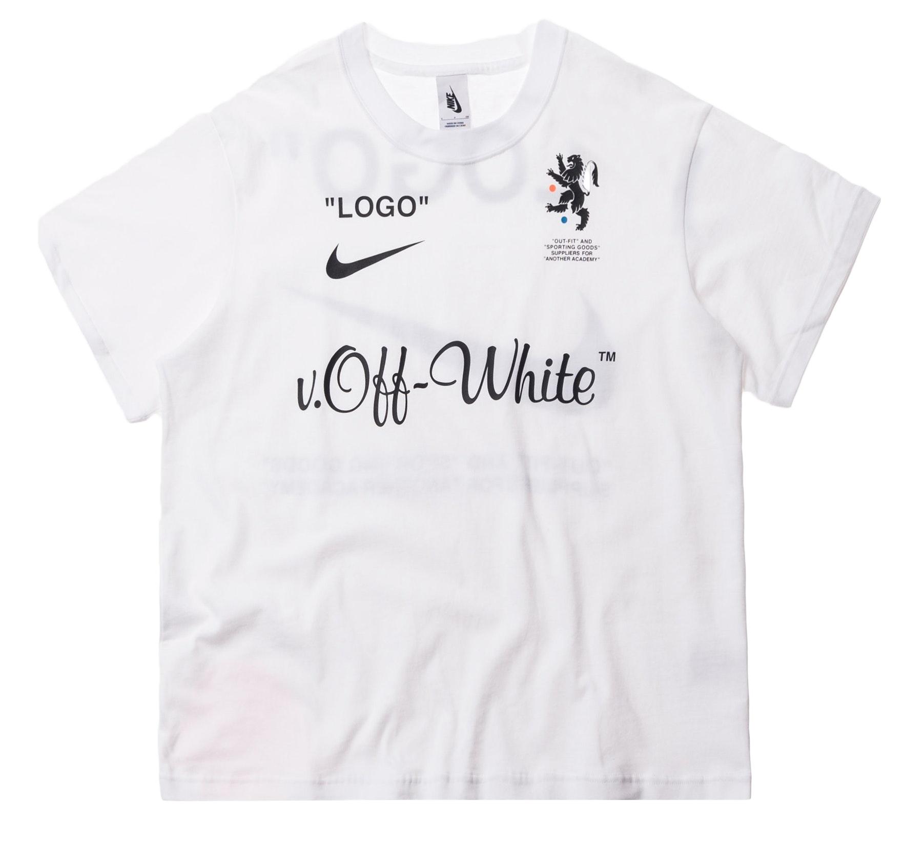 Nikelab x OFF-WHITE Mercurial NRG X Tee White