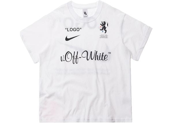 363399fac813 Nikelab x OFF-WHITE Mercurial NRG X Tee White