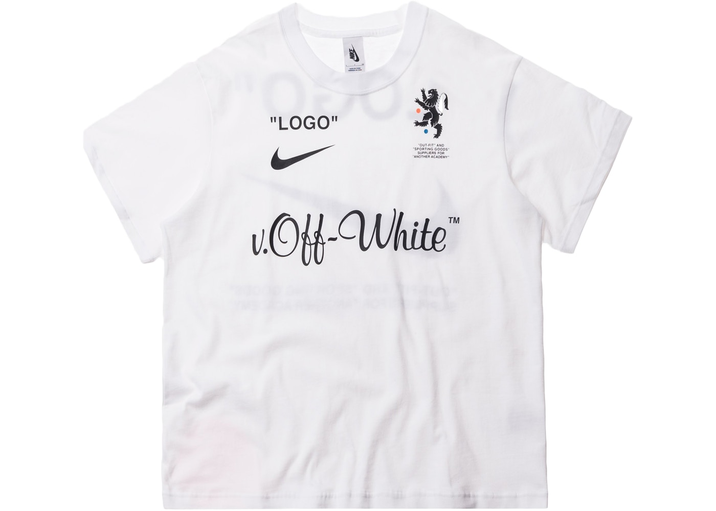 best online amazon timeless design Nikelab x OFF-WHITE Mercurial NRG X Tee White
