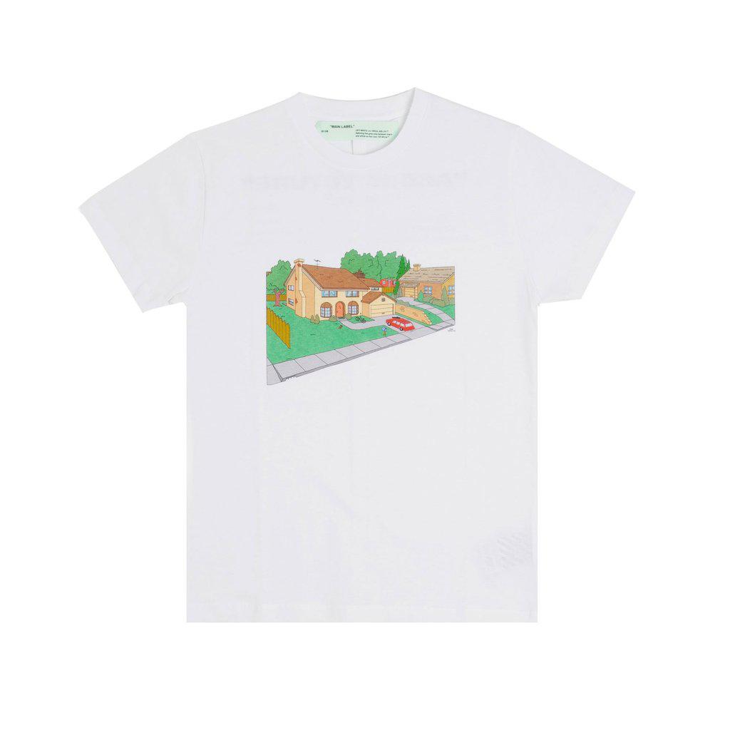 OFF-WHITE Architecture T-Shirt White