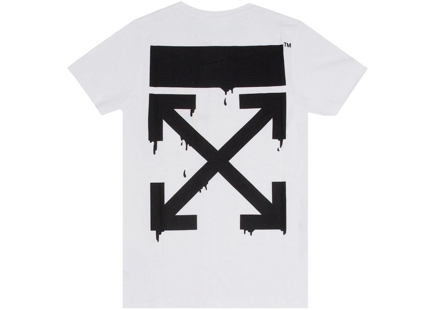 481018bf OFF-WHITE Bart Peace T-Shirt White - SS19