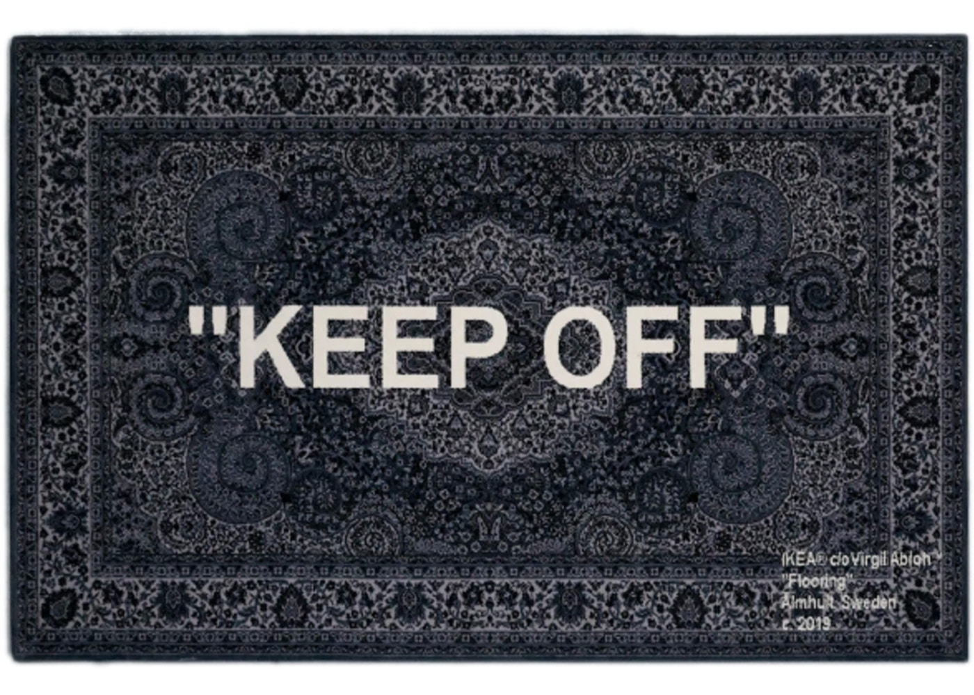 Virgil Abloh X Ikea Keep Off Rug