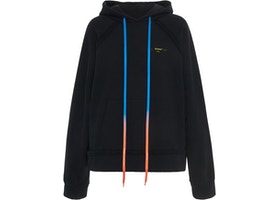 OFF-WHITE Oversized Acrylic Arrows Hoodie Black/Yellow