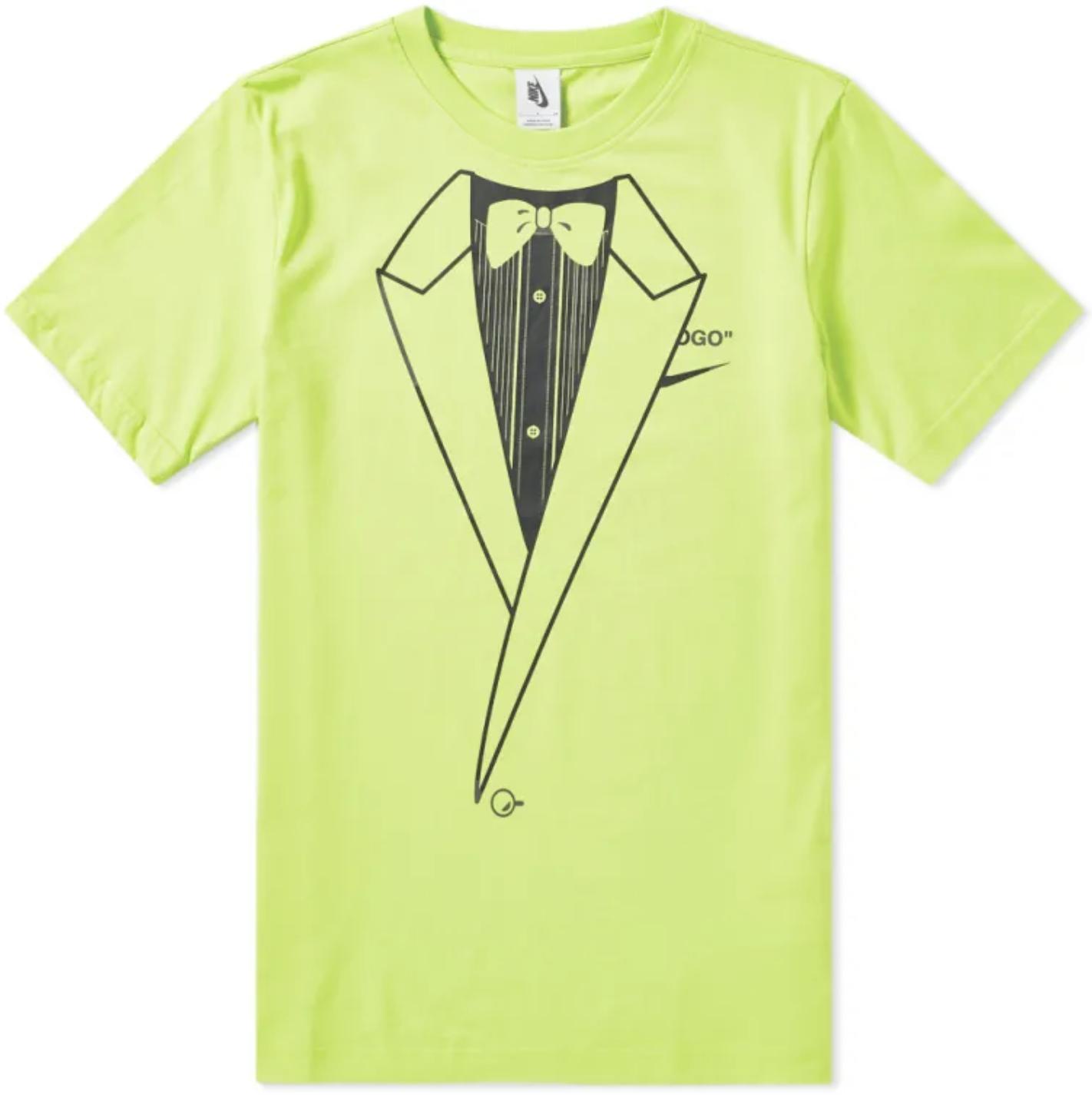 OFF-WHITE x Nike NRG A6 Tee Lime Green
