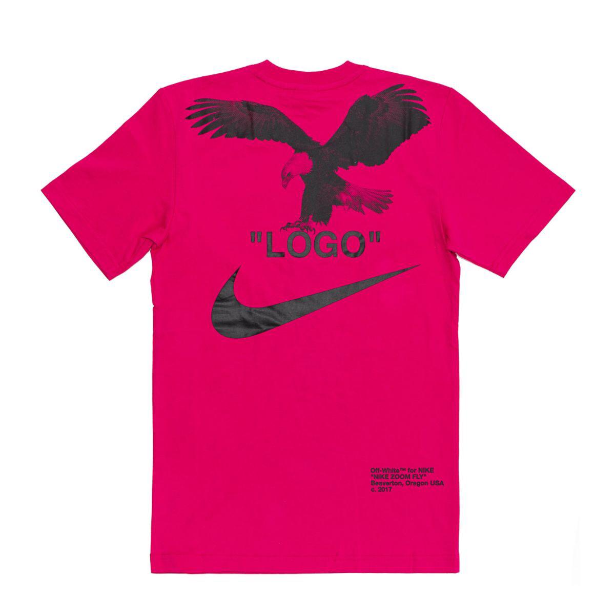 OFF-WHITE x Nike NRG A6 Tee Pink Rush