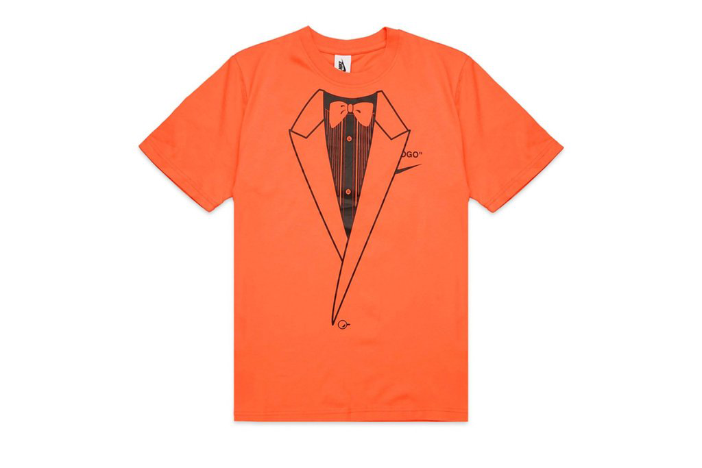 OFF-WHITE x Nike NRG A6 Tee Team Orange