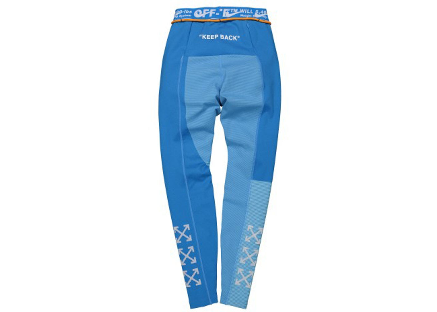 0c6bca1f6 OFF-WHITE x Nike Women's Easy Run Tight Photo Blue