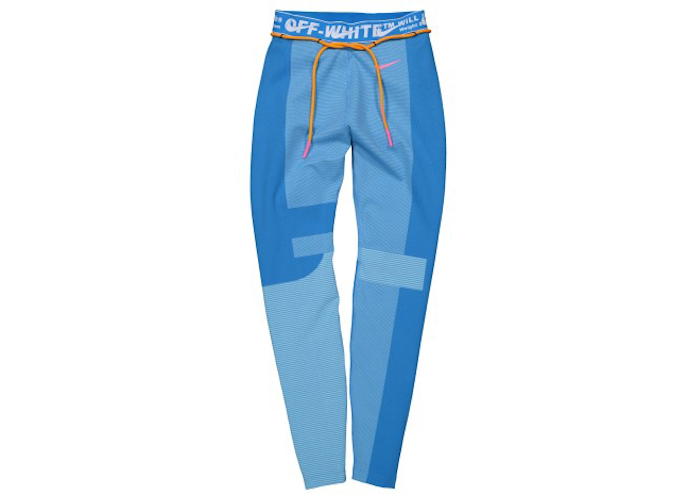 OFF WHITE x Nike Women's Easy Run Tight Photo Blue