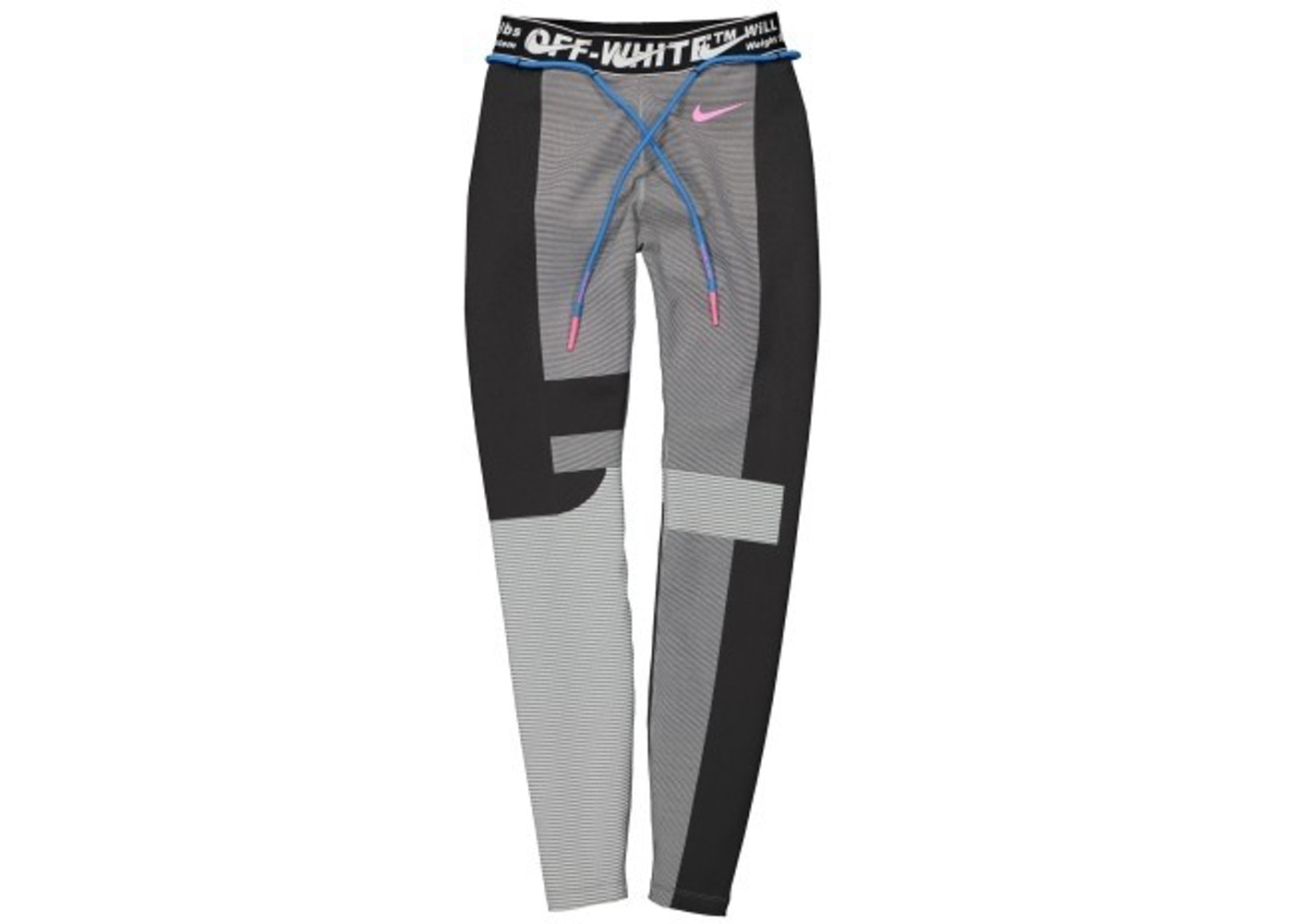 6300a1b9 OFF-WHITE x Nike Women's Easy Run Tight Vast Grey - SS19