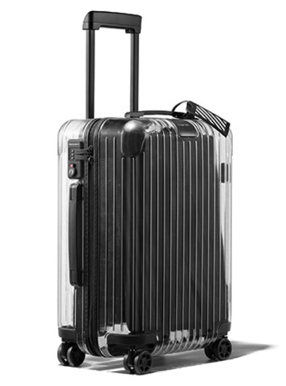 OFF-WHITE x Rimowa Transparent Carry-On Case Clear