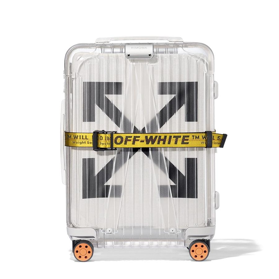 Off-White Rimowa See Through Case White