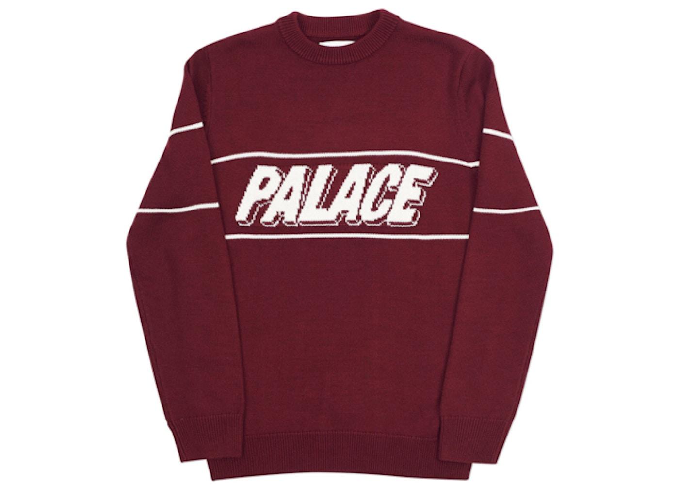 bc78a872b44e Palace 3P Knit Wine - Winter 2017