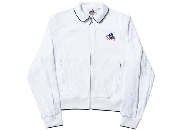 Palace adidas Ladies On Court Towel Track Jacket White d25f8739d