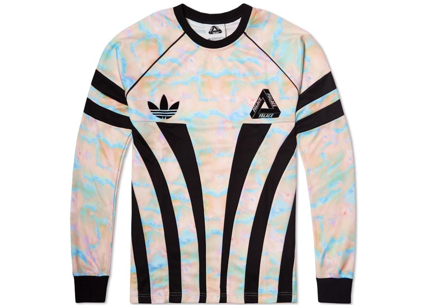 c5c4e9c9 Palace Adidas Longsleeve Graphic Goalie Top Multi/Black - FW15