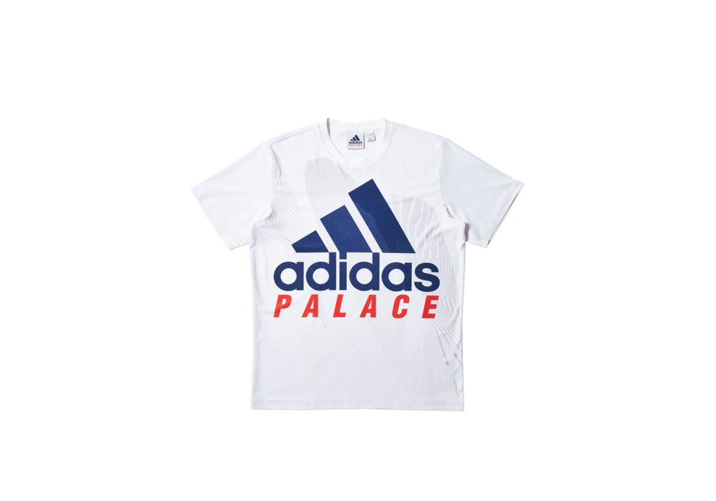 Palace adidas On Court Interview Tee White